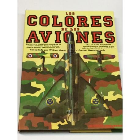 Los colores de los aviones. Distintivos y modelos de camuflaje de aviones militares.