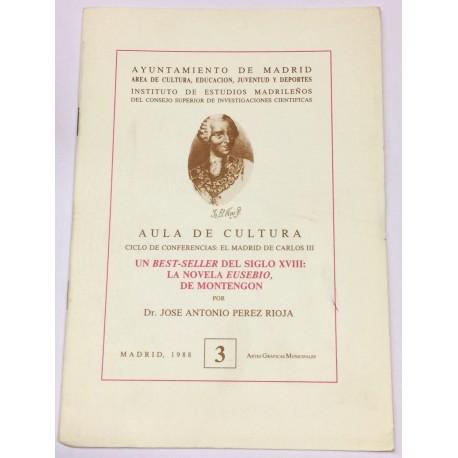 Un best-seller del siglo XVIII: La novela Eusebio, de Montengon.