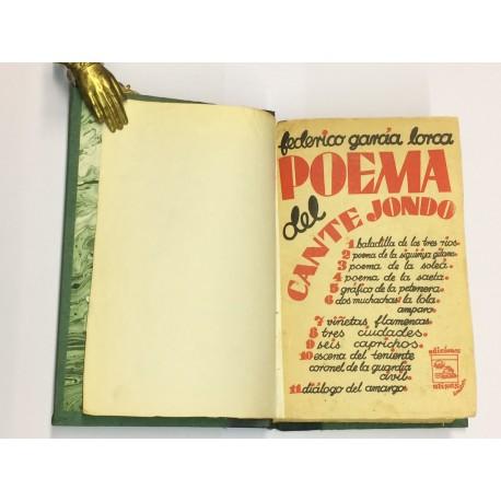 Poema del Cante Jondo.