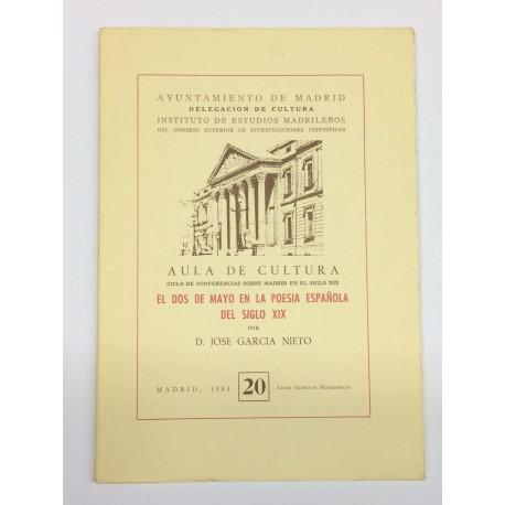El dos de mayo en la poesía española del siglo XIX.