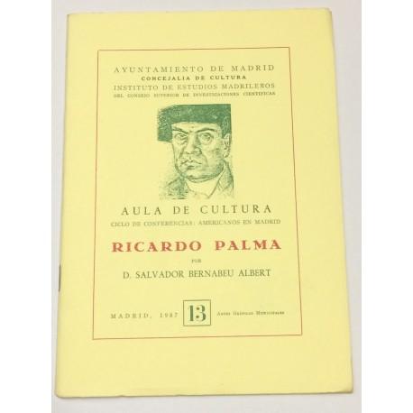 Ricardo Palma.