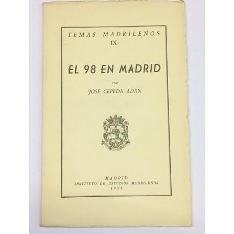 El 98 en Madrid.