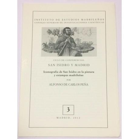 Iconografía de San Isidro en la pintura y estampas madrileñas.
