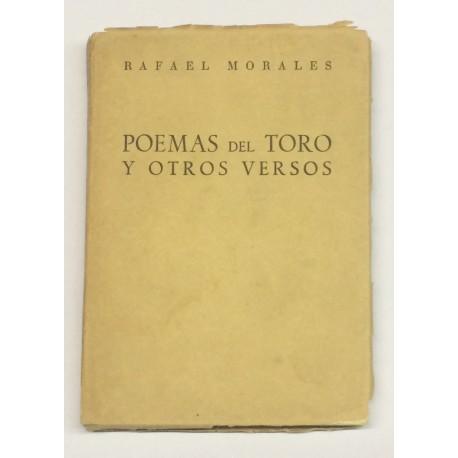 Poemas del Toro y otros versos. Prólogo de José Mª de Cossio.