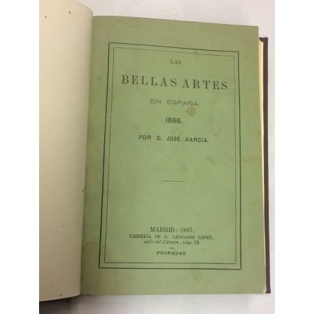 Las Bellas Artes en España. 1866.