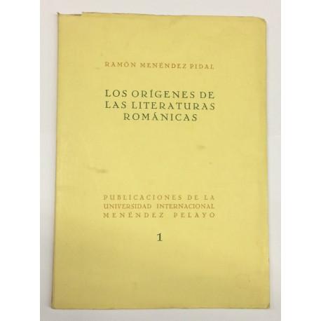Los orígenes de las literaturas románicas a la luz de un descubrimiento reciente.