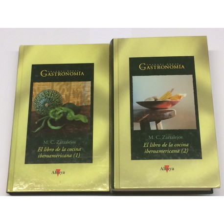El libro de la cocina iberoamericana (1 y 2).