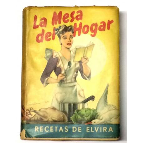 La mesa del hogar. Recetas de Elvira. Normas útiles.