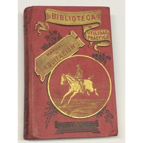 Manual práctico de equitación.