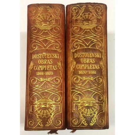 Obras Completas. Traducción directa del ruso. Introducción, prólogos, notas y censos de personajes por Rafael Cansinos Assens.