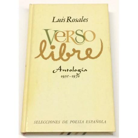 Verso libre. Antología. 1935-1978.