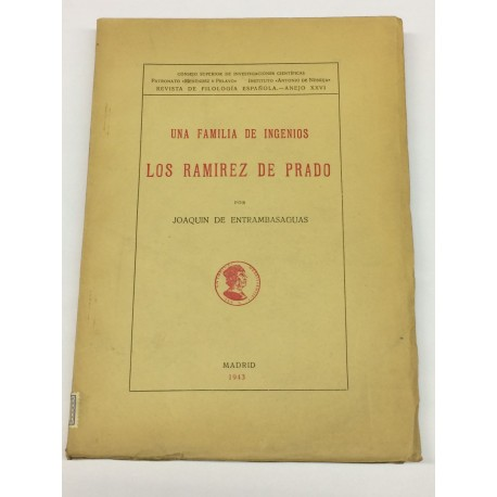 Una familia de Ingenios. Los Ramírez de Prado.