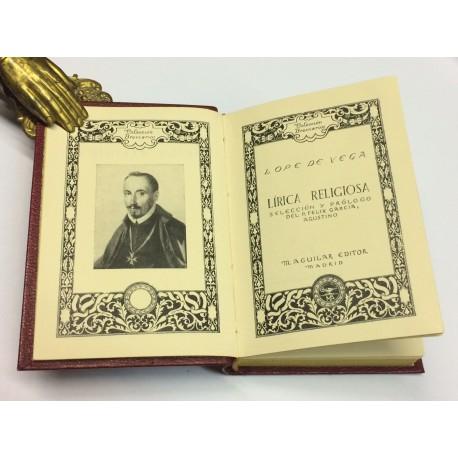 Lírica religiosa. Selección y prólogo del P. Félix García.