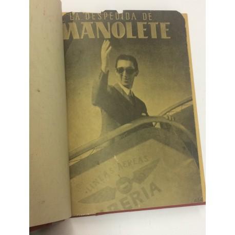 La despedida de Manolete.