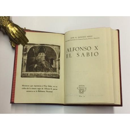 Alfonso X, el sabio.