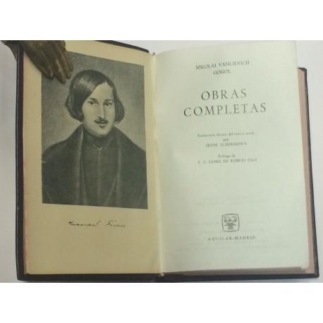 Obras completas. Traducción directa del ruso y notas por Irene Tchernowa. Prólogo de F. C. Sáinz de Robles.
