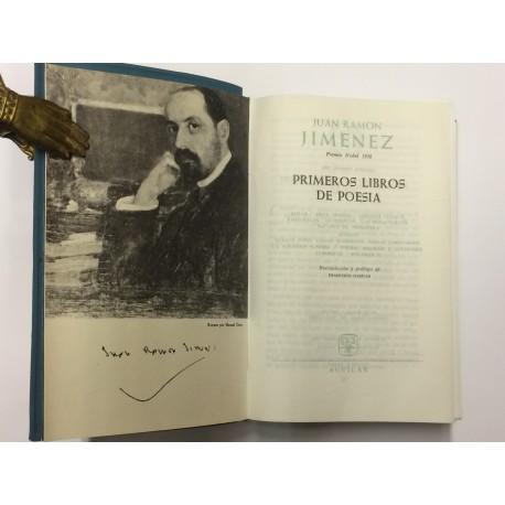 Primeros Libros de Poesía. Recopilación y prólogo de Francisco Garfias.
