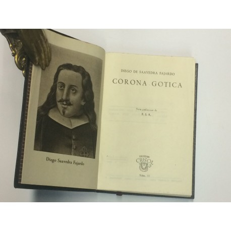 Corona Gótica. Nota preliminar de F.S.R.