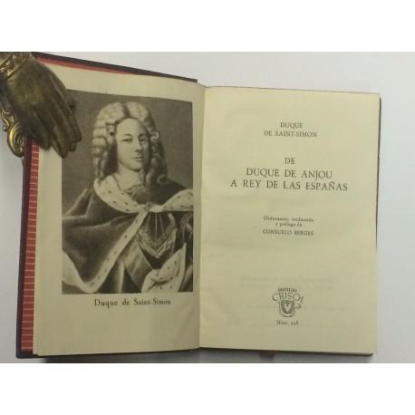 De Duque de Anjou a Rey de las Españas.