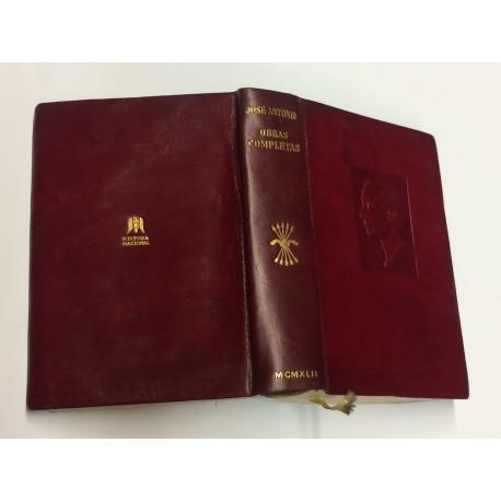 Obras Completas. Recopilación y ordenación de los textos originales por Agustín del Río Cisneros y Enrique Conde Gargollo.