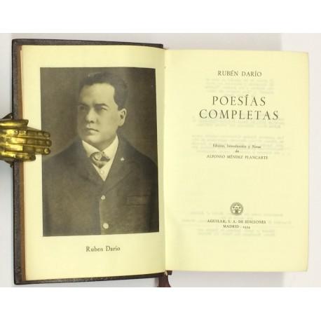 Poesías completas. Edición, introducción y notas de Alfonso Ménde Plancarte.