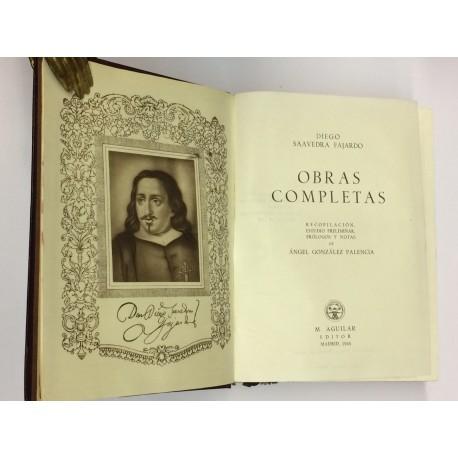 Obras Completas. Recopilación, estudio preliminar, prólogos y notas de Ángel González Palencia.