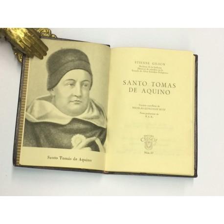 Santo Tomás de Aquino. Versión castellana de Nicolás González Ruiz.