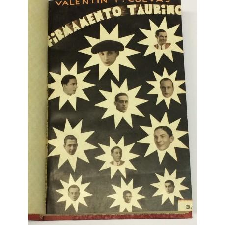 Firmamento taurino. Historia novelesca de los toreros.