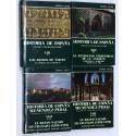 HISTORIA DE ESPAÑA MENÉNDEZ PIDAL VOLUMEN VIII (4 TOMOS) - REINOS DE TAIFAS REINO NAZARÍ AL-ANDALUS.