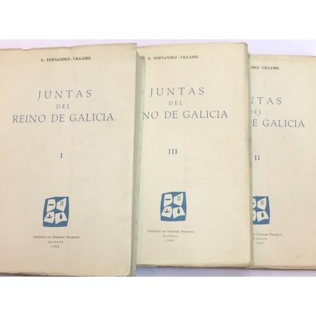 Juntas del Reino de Galicia.
