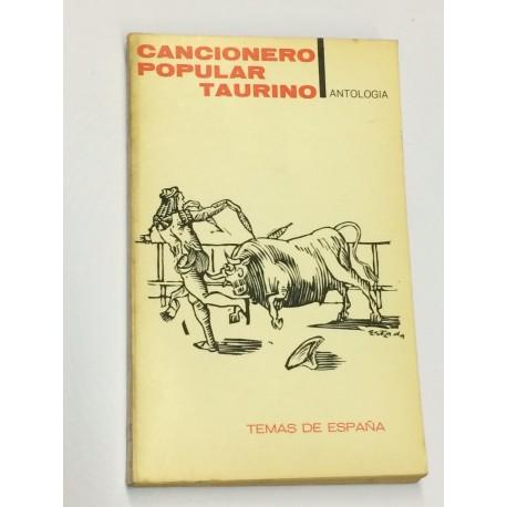 CANCIONERO popular taurino. Antología.
