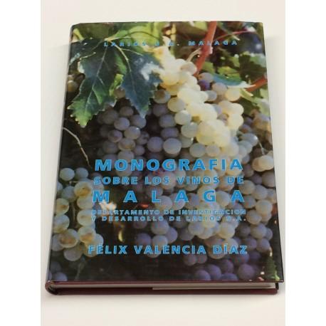 Monografía sobre los vinos de Málaga.