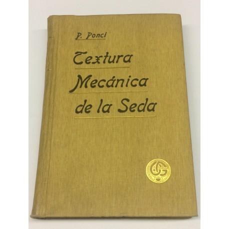 Textura mecánica de la seda.