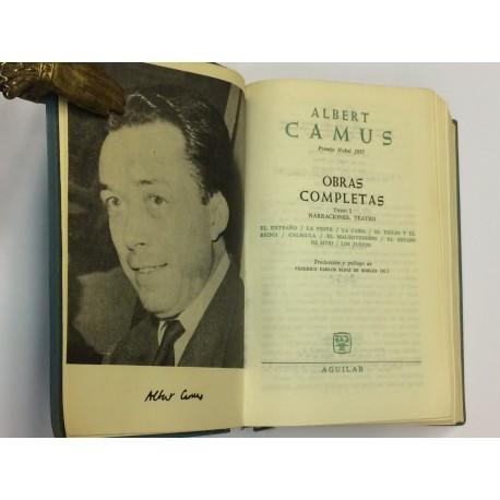 Obras Completas. Tomo I: Narraciones. Teatro. Traducción y prólogo de Federico Carlos Sáinz de Robles.