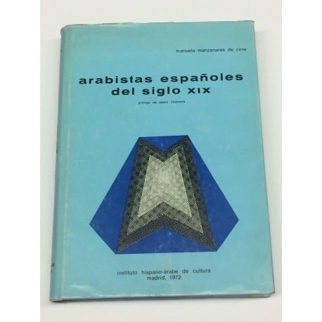 Arabistas españoles del siglo XIX. Prólogo de Pedro Chalmeta.