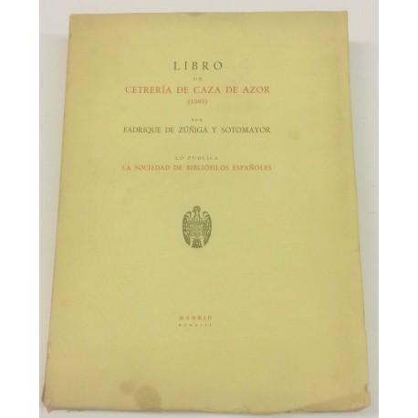 Libro de Cetrería de Caza de Azor (1565).