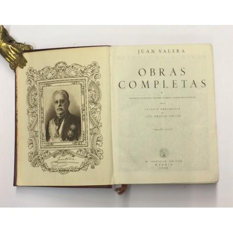 Obras Completas. Tomo I: Novelas. Cuentos. Teatro. Poesía. Correspondencia. Estudio preliminar de Luis Araujo Costa.