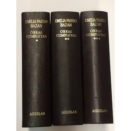Obras Completas. (Novelas y Cuentos). Estudio preliminar, notas, selección y prólogo de Federico Carlos Sáinz de Robles.