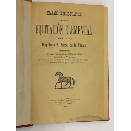 Tratado teórico-práctico de Equitación Elemental escrito por...