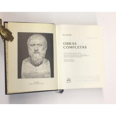 Obras completas. Traducción de griego, preámbulos y notas por María Araujo, Francisco García Yague, Luis Gil,...