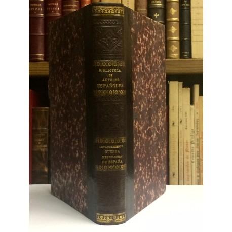 Historia del levantamiento, guerra y revolución de España. Precedida de la biografía del autor por Leopoldo Augusto de Cueto.