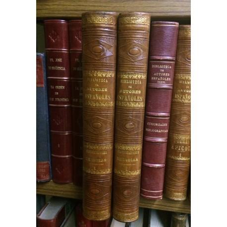 Historiadores Primitivos de Indias.