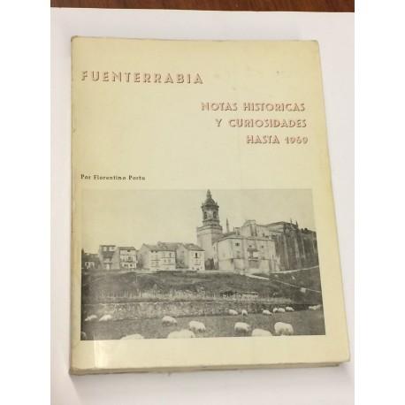 Fuenterrabía. Notas históricas y curiosidades hasta 1969.