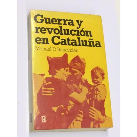 Guerra y revolución en Cataluña.