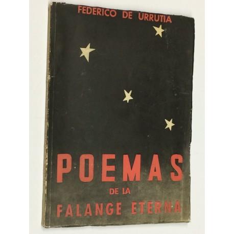 Poemas de la Falange eterna. Prólogo de Manuel Halcón.