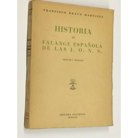 Historia de la Falange Española de la J.O.N.S.
