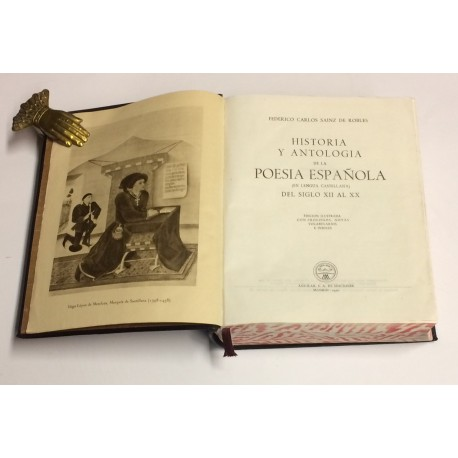 Historia y Antología de la Poesía Española (en lengua castellana) del siglo XII al XX. Edición ilustrada con prólogos, notas, vo