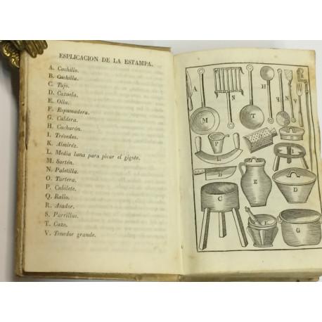 Arte de cocina, pastelería, vizcochería y conservería.