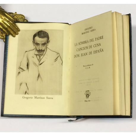 Teatro: La sombra del padre, Canción de Cuna y Don Juan de España.