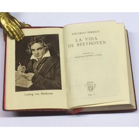 La vida de Beethoven.